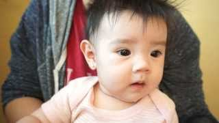 Download Korean Mexican baby girl Video
