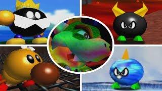 Download Super Mario 64 - All Bosses Video