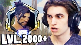 Download Playing With A Level 2000+ HANZO in Overwatch!? - Funny Moments Video