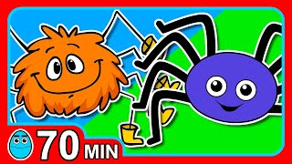 Download ″Itsy Bitsy Spider″ Plus More | Club Singalong Nursery Rymes & Songs, Baby Learning, Kindergarten Video
