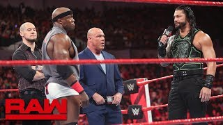 Download Brock Lesnar's contractual negotiations hit a snag: Raw, June 25, 2018 Video