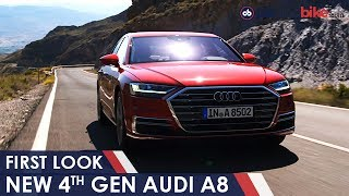 Download New Audi A8 Unveiled; India Launch In 2018 | NDTV CarAndBike Video