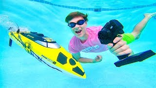 Download RC BOAT UNDERWATER!! Video
