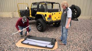 Download Bestop Installation of a Trektop NX on a TJ (97-06) Jeep Wrangler Video