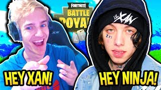 Download NINJA PLAYS FORTNITE WITH RAPPER LIL XAN! (DIEGO) Fortnite SAVAGE & FUNNY Moments Video