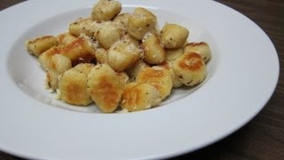Download Phil Cooks - Crispy Pan Fried Gnocchi Recipe Video