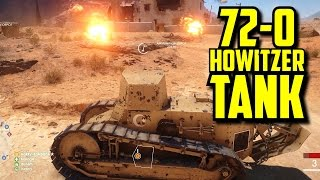 Download BF1 72-0 HOWITZER TANK Video