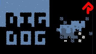 Download Dig Dog gameplay: HUNT THE BONE! | Let's play Dig Dog (PC game) Video