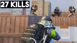 Download FULL SQUAD WAITED FOR ME!   27 KILLS SOLO vs Squad   PUBG Mobile Video