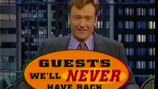 Download Guests We'll Never Have Back on Conan (1998-02-20) Video