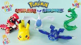 Download Pokémon Omega Ruby e Alpha Sapphire - McDonald's McLanche Feliz - JUNHO 2016 - brinquedo toys Video