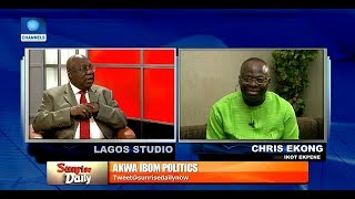 Download APC, PDP Chieftains Face-Off Over Akpabio's Defection Pt.2  Sunrise Daily  Video