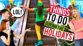 Download Fun Things to Do When You're Bored this Christmas!! (Elf SPOOF)   Niki and Gabi Video