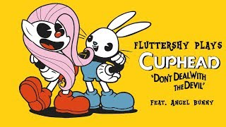 Download Fluttershy plays Cuphead [HILARIOUS] 🍉 | w' Angel Bunny! Video