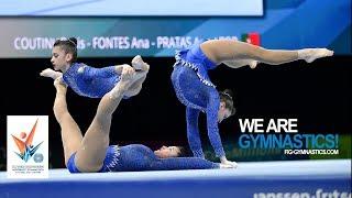 Download 2018 Acrobatic Worlds, Antwerp (BEL) - Highlights WOMEN'S GROUPS FINAL - We Are Gymnastics ! Video