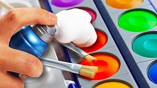 Download 10 Awesome Paint Hacks For Everyone | Easy Paint Crafts | Craft Factory Video