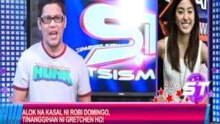Download Alok na kasal ni Robi Domingo, tinanggihan ni Gretchen Ho. Video