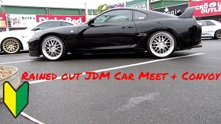 Download Rained out JDM Car Meet and Convoy Video