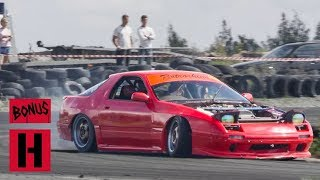 Download This Is How You Drift a 100HP RX-7! Video
