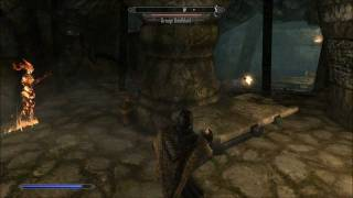 Download Skyrim Lost Valkygg Draugr Deathlord( cough bastard ) Mage Win with a few attempts Video