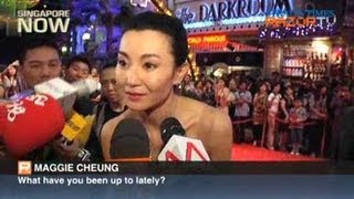 Download Maggi Cheung not ready to marry (Universal Studios Grand Opening Pt 2) Video