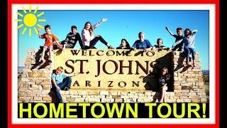 Download HOMETOWN TOUR! | ST. JOHNS ARIZONA | BIKE TOUR! Video