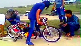 Download THE CLiCK OF DEATH ☠️ the sound where dragbike mechanics most afraid of ... Video