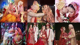 Download Top 20 Beautiful TV Actresses Who Had Royal Weddings    Indian TV Actresses Wedding Video