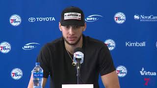 Download 76ers Exit Interview 2018 | Ben Simmons (5.10.18) Video