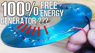 Download 100% Free Energy Generator using Music CD and Diodes! Video
