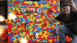 Download Nerf War: LEGO Nerf GUN Fortress! Video
