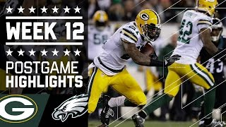 Download Packers vs. Eagles (Week 12) | Game Highlights | Monday Night Football | NFL Video
