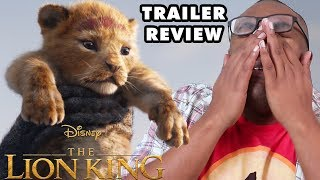Download THE LION KING 2019 Trailer Review & Rants - Black Nerd Video