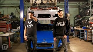 Download Drifting Across The Finish Line w/ Body Kits & Alignment: Drift Garage Ep. 205 Video
