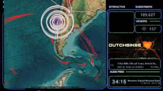 Download 2/19/2017 - Japan struck by M5.5 (M5.9) earthquake as expected - Forecast area direct hit Video