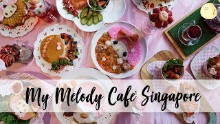 Download My Melody Café Singapore – Pink Cafe With Pink Food Video