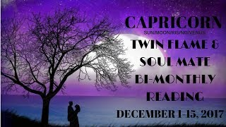 Download CAPRICORN*TWIN FLAME*WOW IM SPEECHLESS...LOOK WHAT YOUVE DONE! DEC 1-15,2017 Video