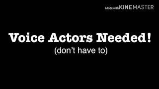 Download Voice Actors Needed! (CLOSED) || Gacha Series Video