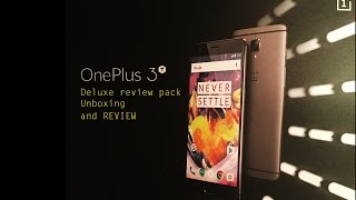 Download [English] - ONEPLUS 3T UNBOXING - DELUXE REVIEW PACK. What's inside the bag? Video