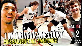 Download Ballislife 1 on 1 King of The Court!! 🔥🔥 Mac McClung, Nassir Little, Jules B GET SAUCY!! +More! Video