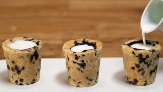 Download Milk and Cookie Shots Recipe | Eat the Trend Video