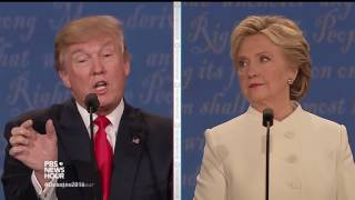 Download Clinton and Trump debate nuclear weapons Video