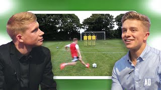 Download Kevin De Bruyne Reacts To My Best Free Kicks Ever Video