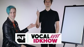 Download IDKHOW's Dallon Weekes Put on Vocal Rest, Ryan Seaman Guesses His Drawn Answers Video