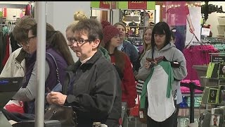 Download Black Friday shoppers take advantage of deals, say crowds are small Video