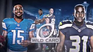 Download NFL NBC - Wild Card Game 2017 Game Intro - Detriot Lions vs Seattle Seahawks Video