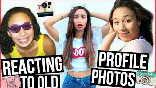 Download REACTING TO OLD PROFILE PICTURES Video