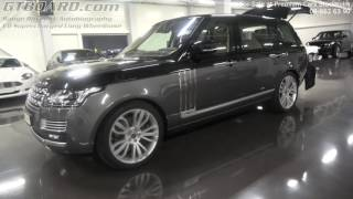 Download [4k] For Sale Range Rover SV Autobiography V8 Supercharged Long Wheelbase at Premium Cars Stockholm Video