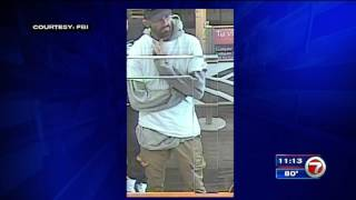 Download FBI searching for NW Miami Dade bank robber Video