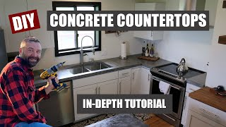 Download How to Make Concrete Countertops Video